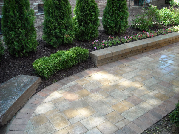stone paver  patio 2 birmingham michigan