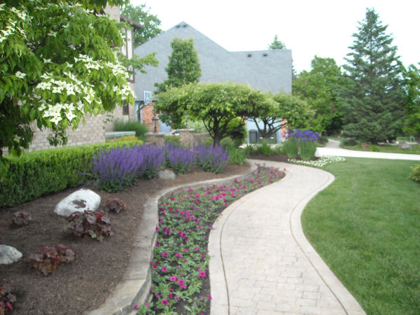 landscape design in Michigan