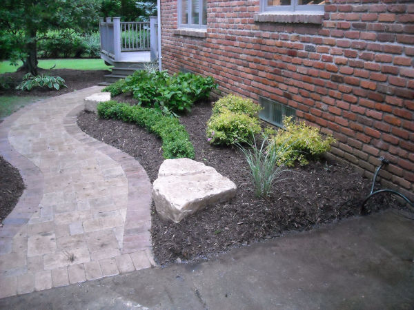 Paver Walkway and Landscape design 2