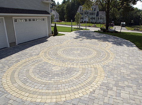 Michigan Brick Paver Driveway - Design and Installation