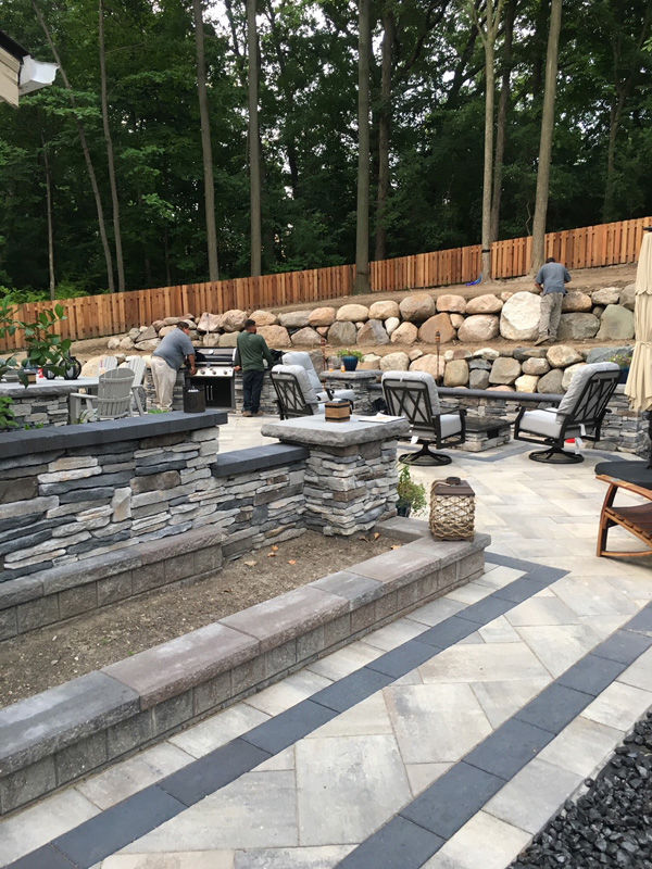 Paver Project - Landscape Contractor