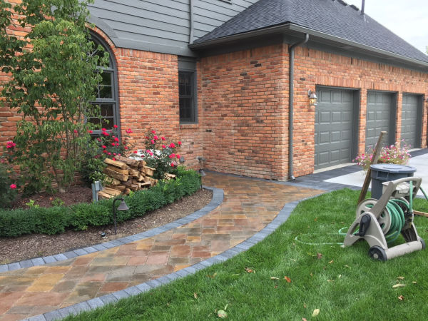 Brick Paver After