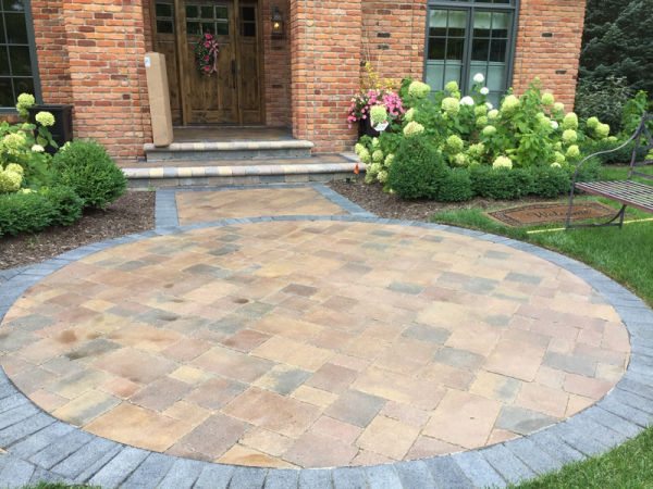 Brick Paver Installation - patio
