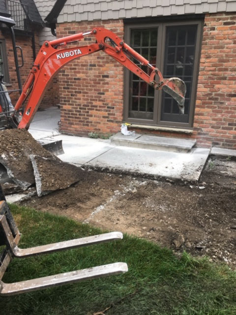 Yard Drainage and foundation waterproofing