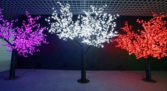 Christmas Tree Light Installation