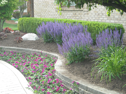 Bloomfield Hills Michigan - Oakland County- Landscaping-brick pavers
