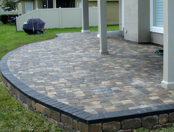 michigan brick paver walkways and patios