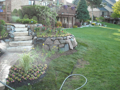 Shelby Township Michigan Landscape Design