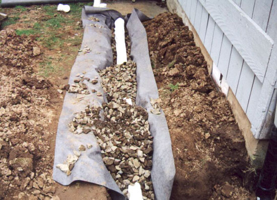 Landscaping Michigan French Drains