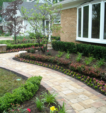 Michigan landscape design higher ground landscaping in for Landscape design michigan